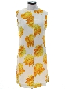 Womens Floral Summer Dress