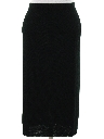 Womens Knit Skirt