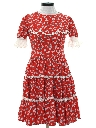 Womens Square Dance Style Dress