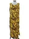 Womens Hawaiian Maxi Dress