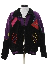 Womens Totally 80s Suede Leather Jacket