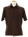Mens Knit Golf Style Shirt