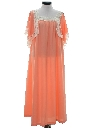 Womens Hippie Maxi A-Line Dress