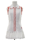Womens Mod Mini Tennis Dress