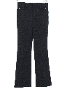 Mens Mod Flared Western Style Leisure Pants