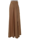 Womens Disco Maxi Skirt