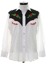 Womens Embroidered Western Shirt