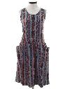 Womens Guatemalan Style Hippie Dress