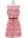Womens Fab Fifties Mini Day Dress