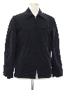 Mens Gas Station Style Work Jacket