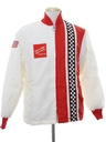 Mens Collectible Totally 80s Coca Cola Racing Jacket