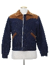 Mens Western Style Denim Jacket