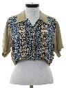 Womens Totally 80s Cropped Shirt