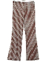 Womens Knit Flared Pants