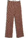Womens Flared Knit Pants