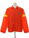 Mens Mod Racing Style Windbreaker Jacket