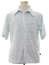 Mens Print Sport Shirt