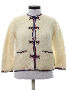 Womens Mod Cardigan Sweater
