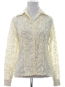 Womens Lace Hippie Shirt