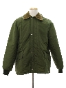 Mens Work Style Barn Car Coat Jacket