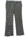 Mens Mod Flared Leisure Style Disco Pants