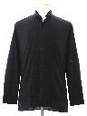 Mens Totally 80s Pleated Tuxedo Shirt