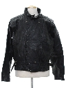 Mens Totally 80s Motorcycle Leather Jacket