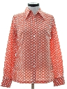 Womens Polka Dot Print Shirt