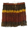 Womens Mini Hippie Broomstick Skirt