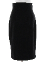 Womens Totally 80s Velvet Skirt