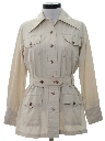Womens Safari Leisure Style Shirt Jacket