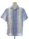 Mens Mod Preppy Sport Shirt