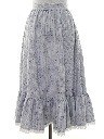 Womens Western Style Skirt