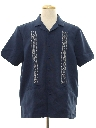 Mens Guayabera Inspired Shirt