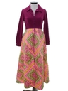 Womens Hippie Maxi Lounge Dress