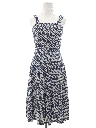 Womens/Girls Print Dress