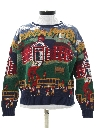 Womens Totally 80s Schoolhouse Sweater
