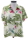 Womens Totally 80s Hawaiian Shirt