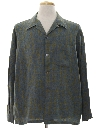 Mens Mod Flannel Sport Shirt