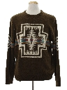 Mens Southwestern Native American Style Sweater