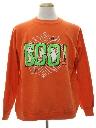 Unisex Cheesy Halloween Sweatshirt