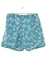 Mens Totally 80s Hawaiian Shorts