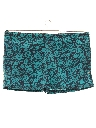 Mens Totally 80s Hawaiian Style Swim Short Shorts