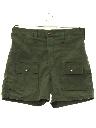 Mens Cargo Sport Shorts