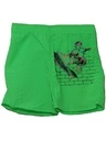 Mens Totally 80s Skateboarder Sport Shorts