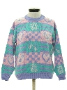Womens Totally 80s Ski Style Sweater