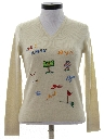 Womens Golf Sweater