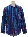 Mens Totally 80s Southwestern Style Graphic Print Shirt