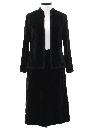Womens Designer Velvet Suit