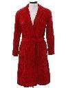Womens Corduroy Robe Style Jacket